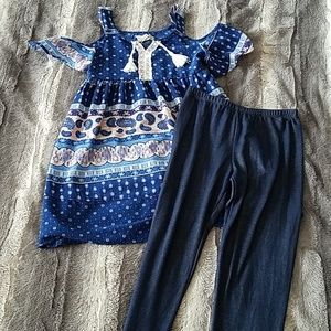 Girls outfit size 10/12